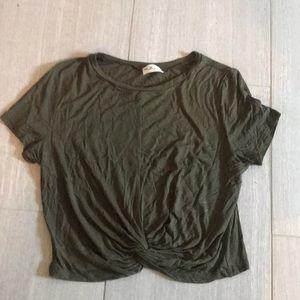 Casual Green t-shirt